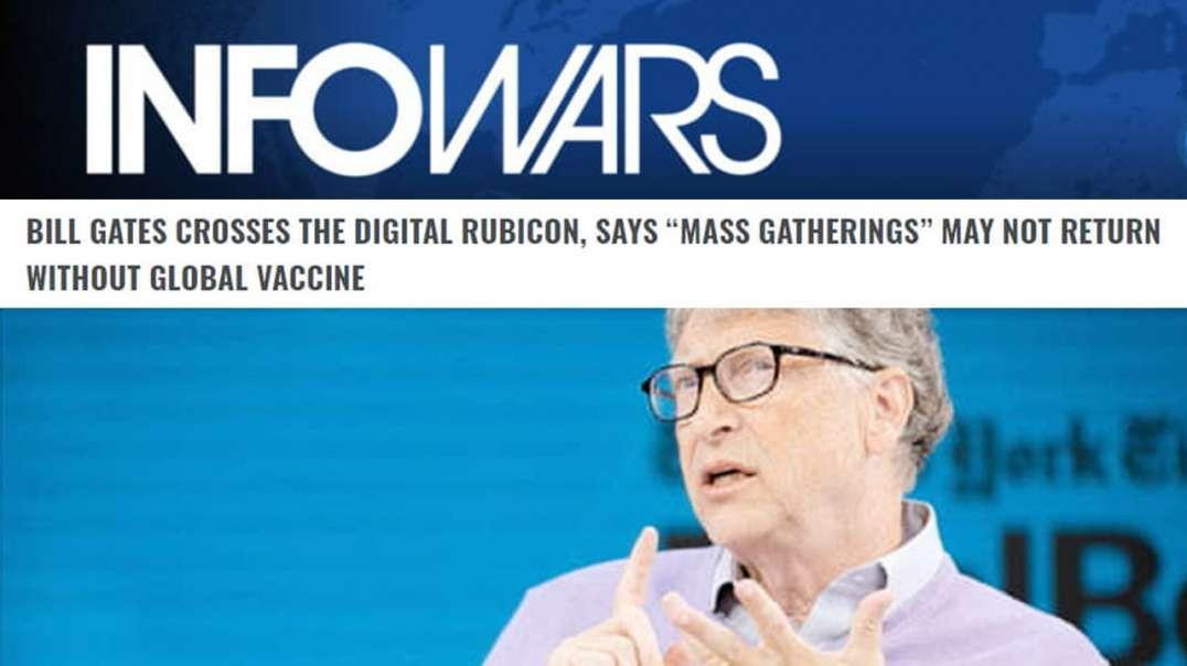 Authoritarian Opportunist Bill Gates Pushes Digital Implant