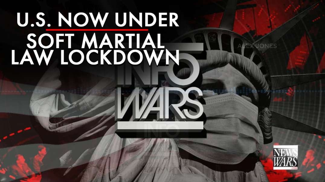 The U.S. Is Now Under Soft Martial Law