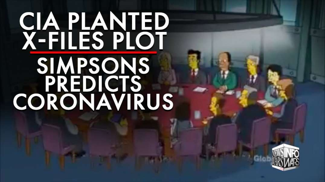 Chris Carter Said CIA Planted X-Files Plot, Plus Simpsons Predicts Corona