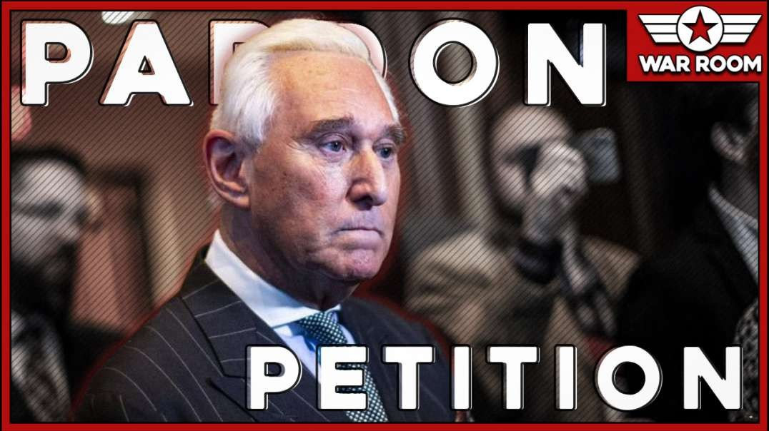 Roger Stone Update: Petition For Pardon Close To The President's Desk