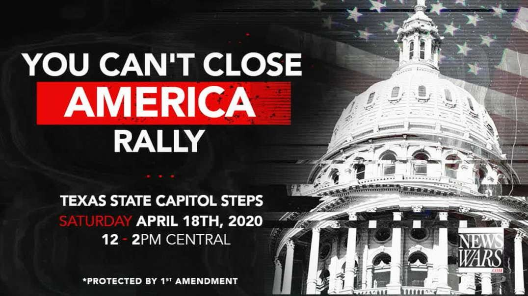 You Can't Close America Rally In Austin Texas!
