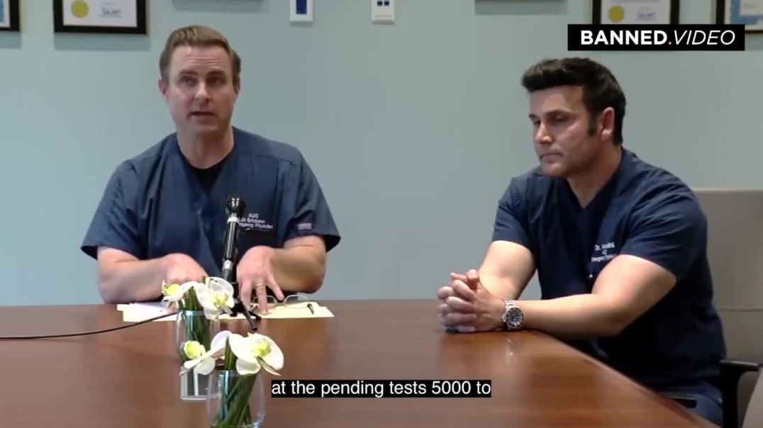 California Doctor Delivers Chilling Message About Covid-19 FULL VIDEO