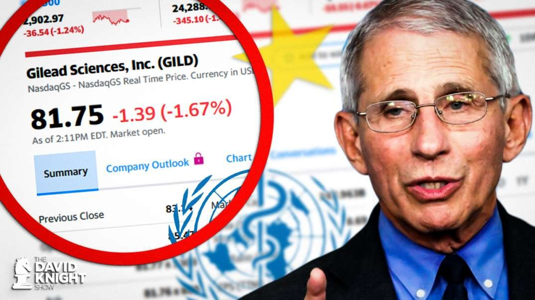 Did Fauci / China / WHO Rig Gilead Stock Price?
