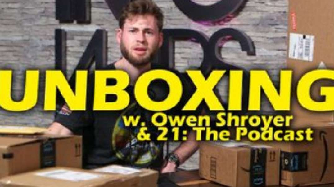 INFOWARS UNBOXING: Owen Shroyer Gets Massive Surprise