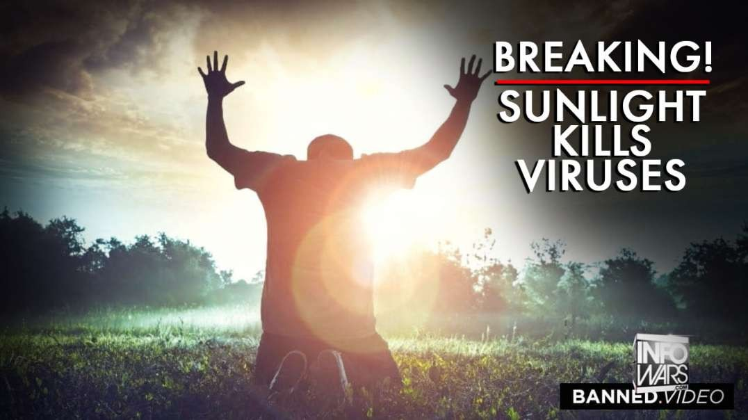 BIG BREAKING NEWS! Sunlight Kills Viruses!