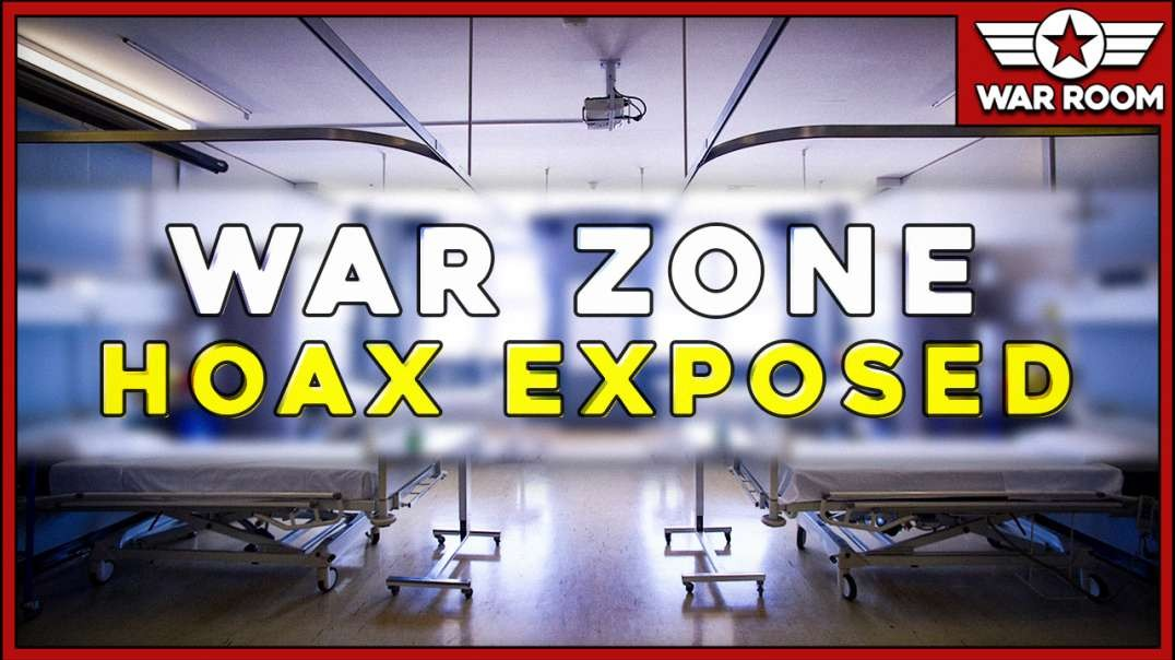 Mainstream Media Hospital War Zone Hoax Exposed!