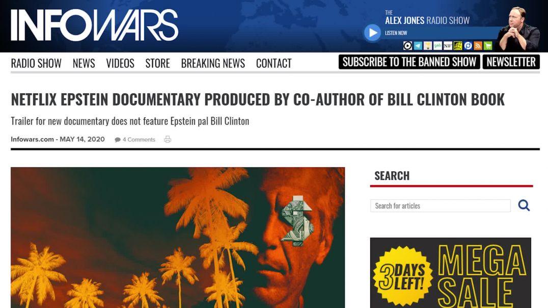 Bill Clinton Co-Author Producing Netflix Epstein Documentary!