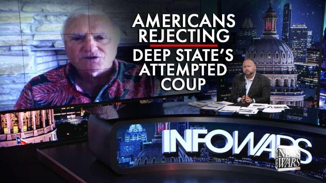 Former Spy Master: Third Coup Against Trump Failing