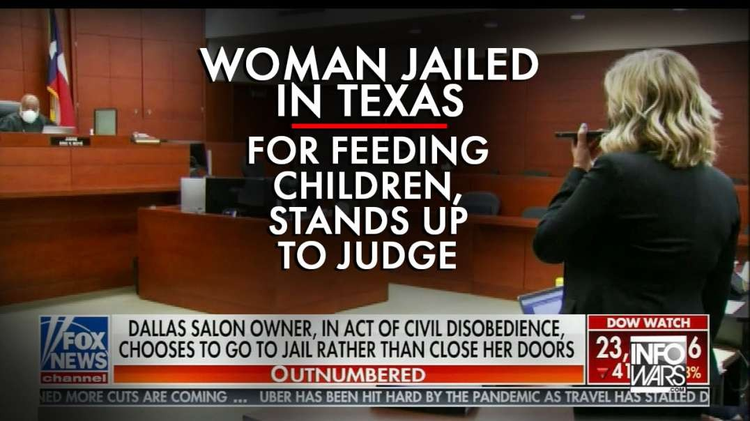 Woman Jailed In Texas For Feeding Her Children, Stands Up To Judge