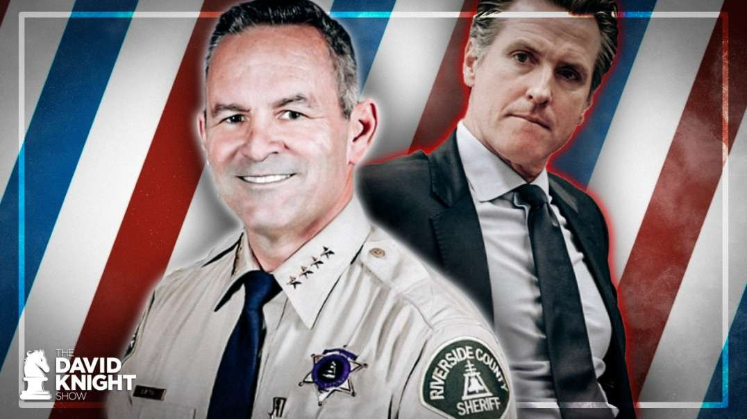 "CA Sheriff Takes on Newsom: ""No NEW Normal"""