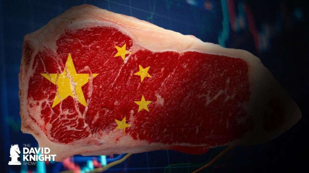 Meat Exports to China RISE 400% as US Production CUT 40%