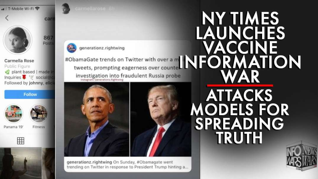 NY Times Launches Vaccine Information War, Attacks Models for Spreading Truth