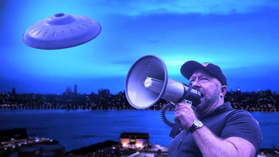 Alex Jones Confirms Alien Invasion Imminent!