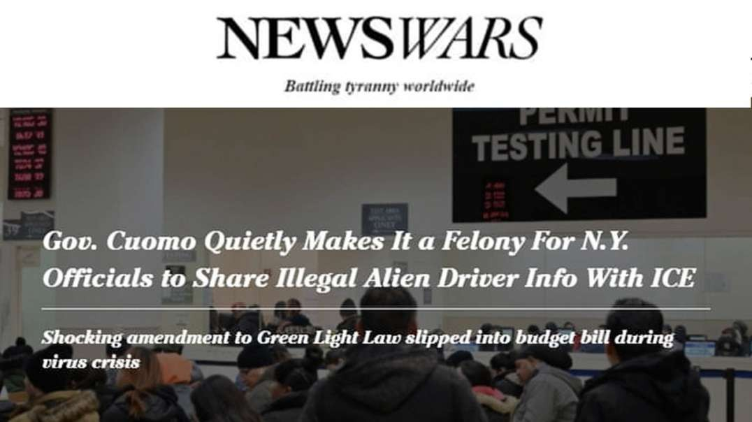 Cuomo to Criminalize Reporting Illegal Immigrants with Criminal Records