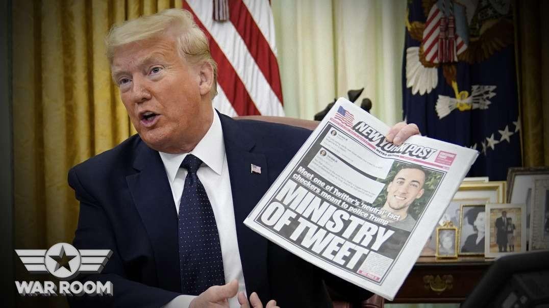 Trump Finally Signs Executive Order On Social Media Censorship