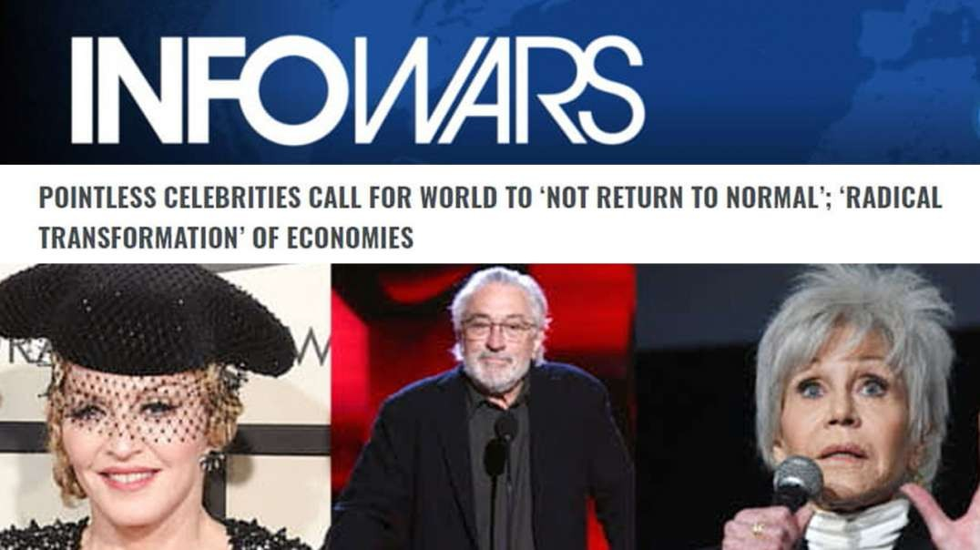 Hollywood Leaders Call for Permanent Lockdown, Endorse Bill Gates' Depopulation