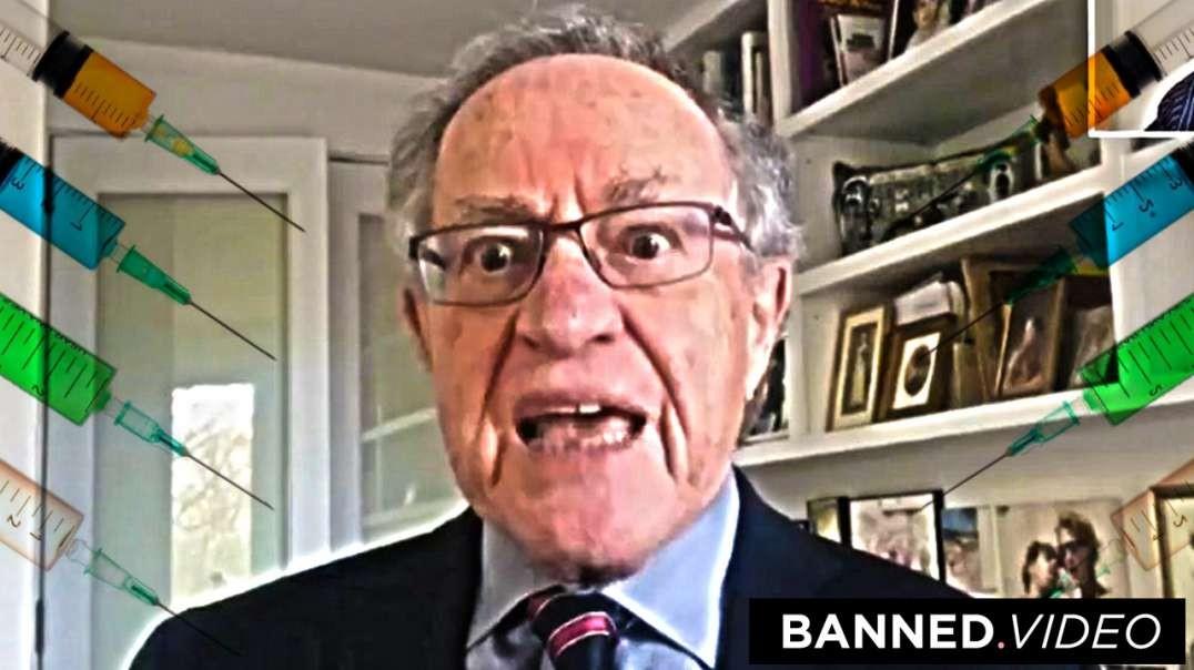 Alan Dershowitz's Forced COVID-19 Inoculation = Rape