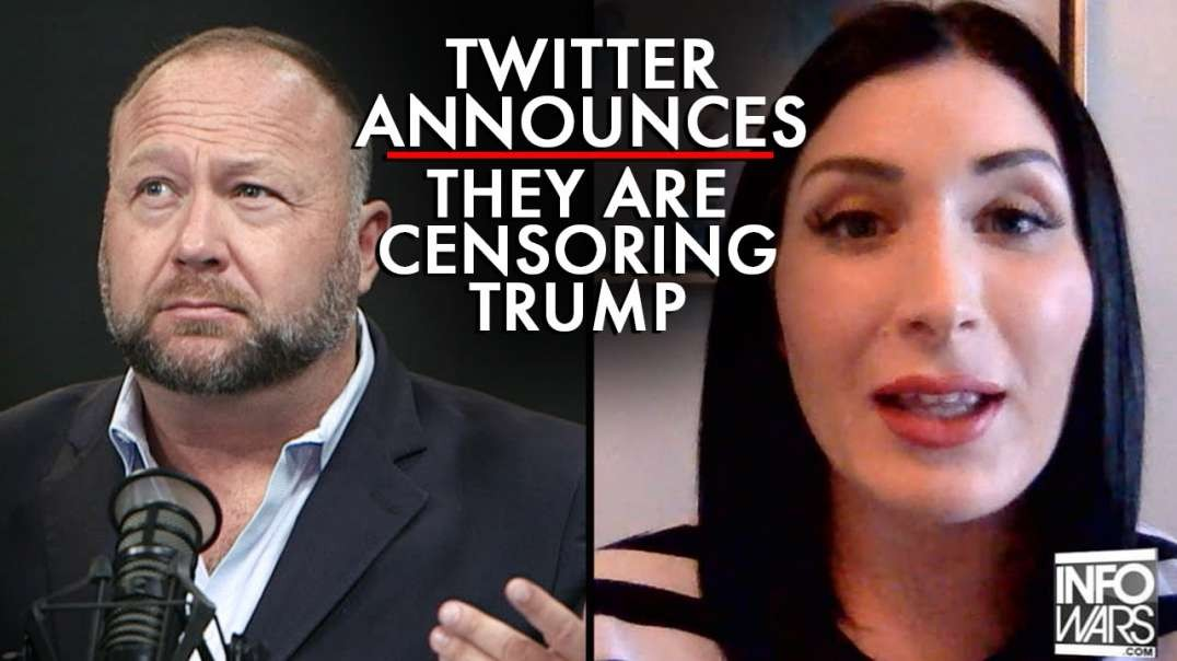 Twitter Announces They Are Censoring The President's Tweet