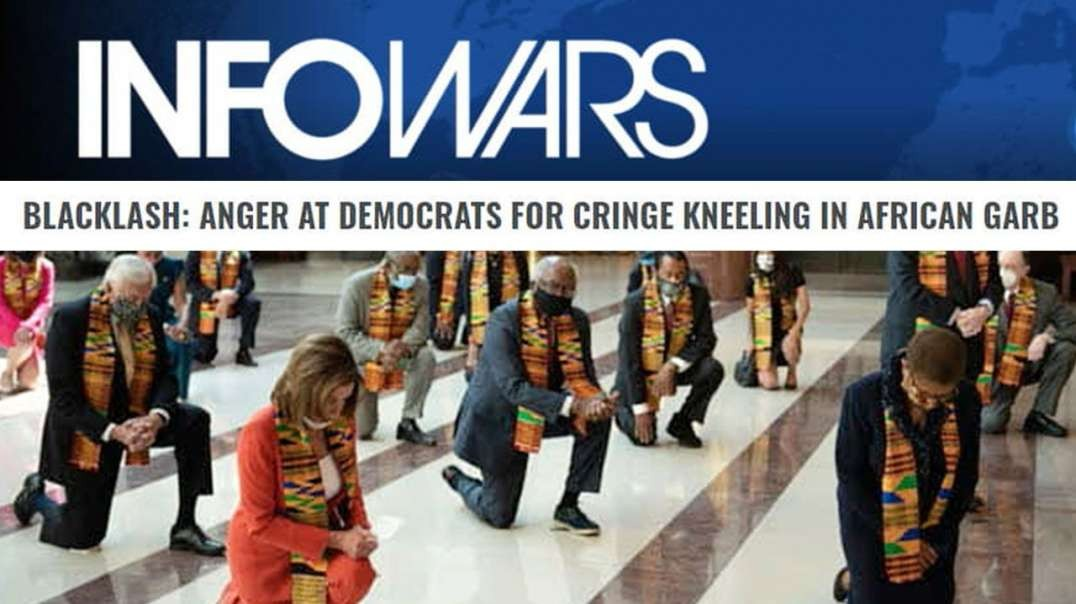 Kneeling Dems Attempt to Submit America to Destruction