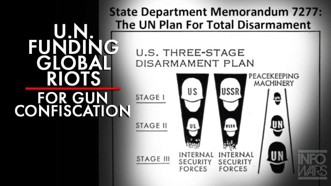 Alex Jones breaks down the State Dept. Memorandum 7277: The UN Plan for Total Disarmament