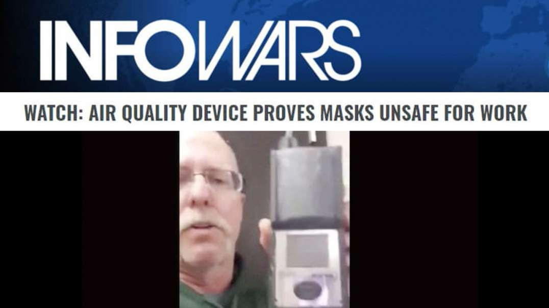 Video: Masks Proven Unsafe as More States Make Them Mandatory