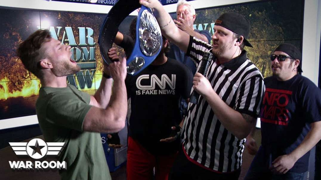 Infowars Crowns First Super Alpha Male Champion!