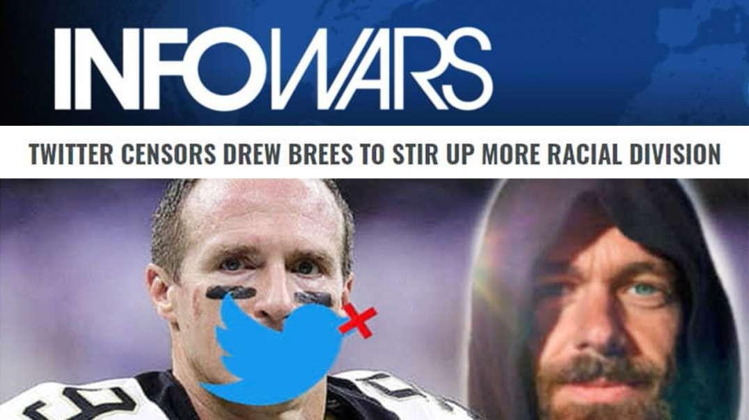 Watch Drew Brees Kneel to America Haters