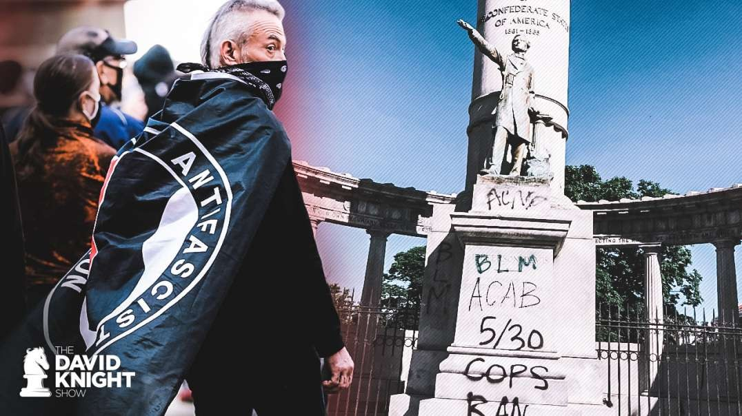 Antifa Defaces Monuments to Black Civil War Soldiers, to Lincoln, and to Those Who Defeated Fascism