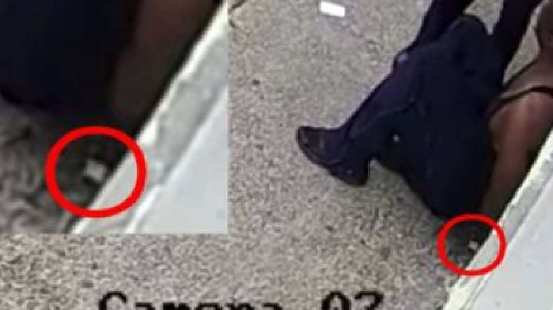 Security Footage Shows George Floyd Clearly Drop A Small Baggie w/ White Substance During Arrestmp4