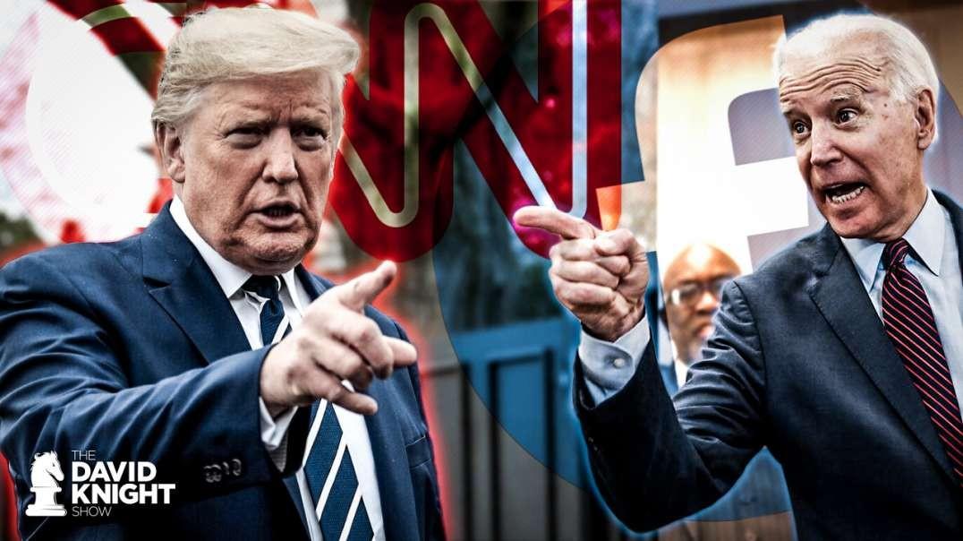 Biden Demands Facebook Censorship, Trump Demands CNN Censorship