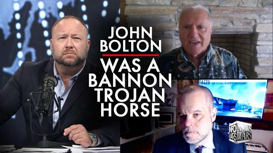 Steve Pieczenik: John Bolton was a Steve Bannon Trojan Horse
