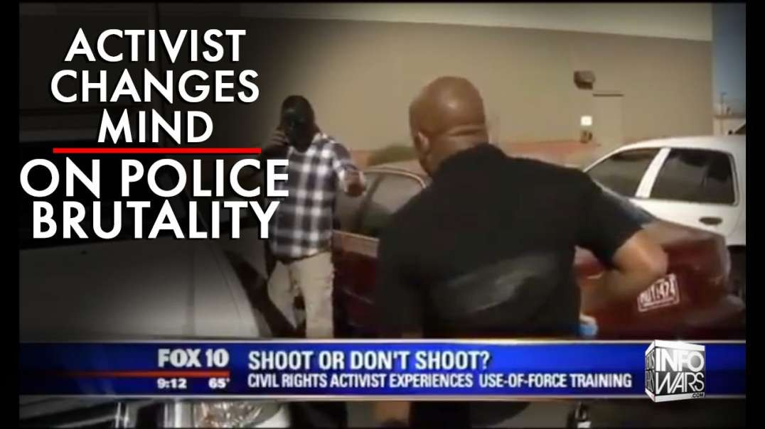 Civil Rights Activists Changes Mind On Police Brutality After Seeing The Training