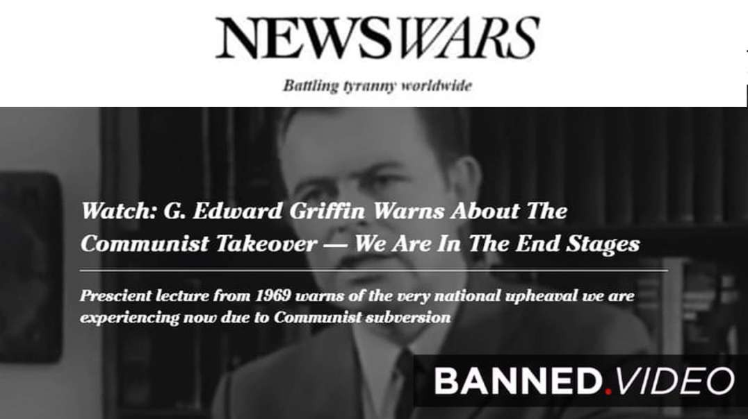 G Edward Griffin Warned in '69 About the Globalists Plan for Race War