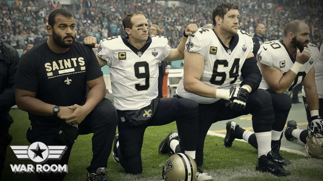 Drew Brees Apologized But Liberal Sports Stars Allowed To Kneel And Hate Trump