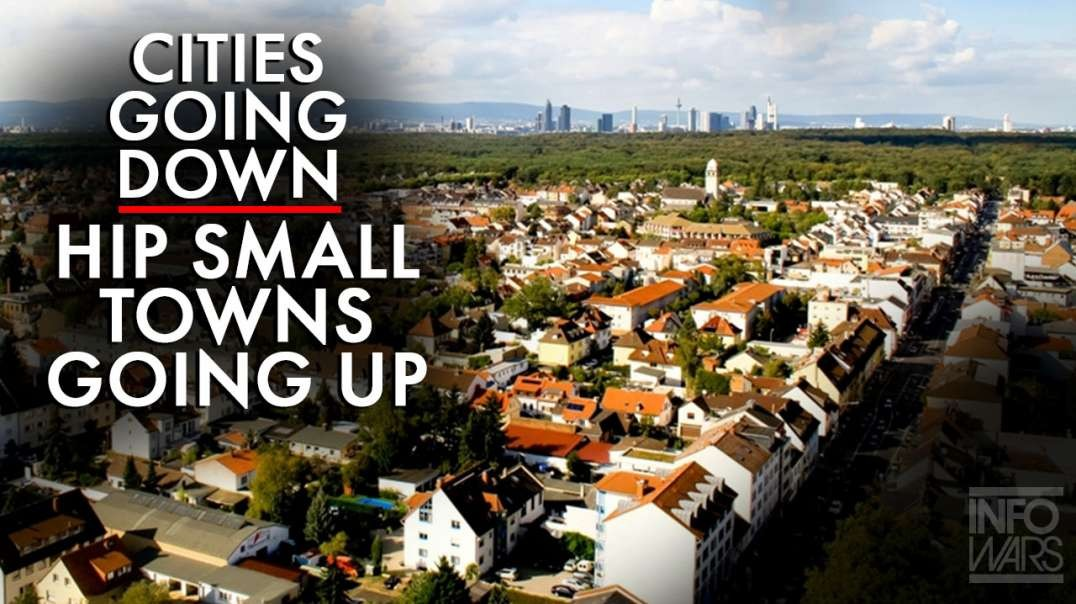 Cities Going Down, Hip Small Towns Going Up