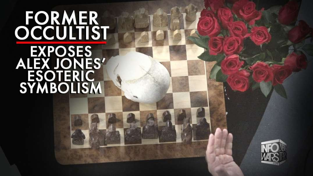 Former Occultist Exposes Meaning Alex Jones' Esoteric Symbolism