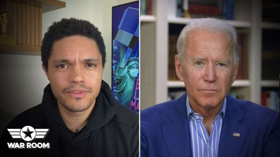 Trevor Noah Caught Staging Scripted Interview With Joe Biden