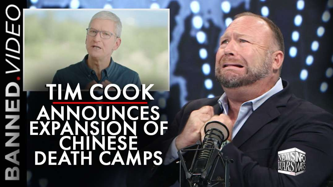 Apple's Tim Cook Announces Expansion of Chinese Death Camps