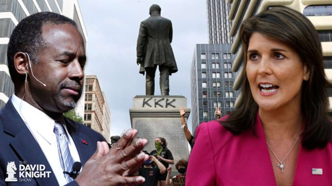 Nikki Haley & Ben Carson: Should DEMOCRAT Monuments Be Removed?