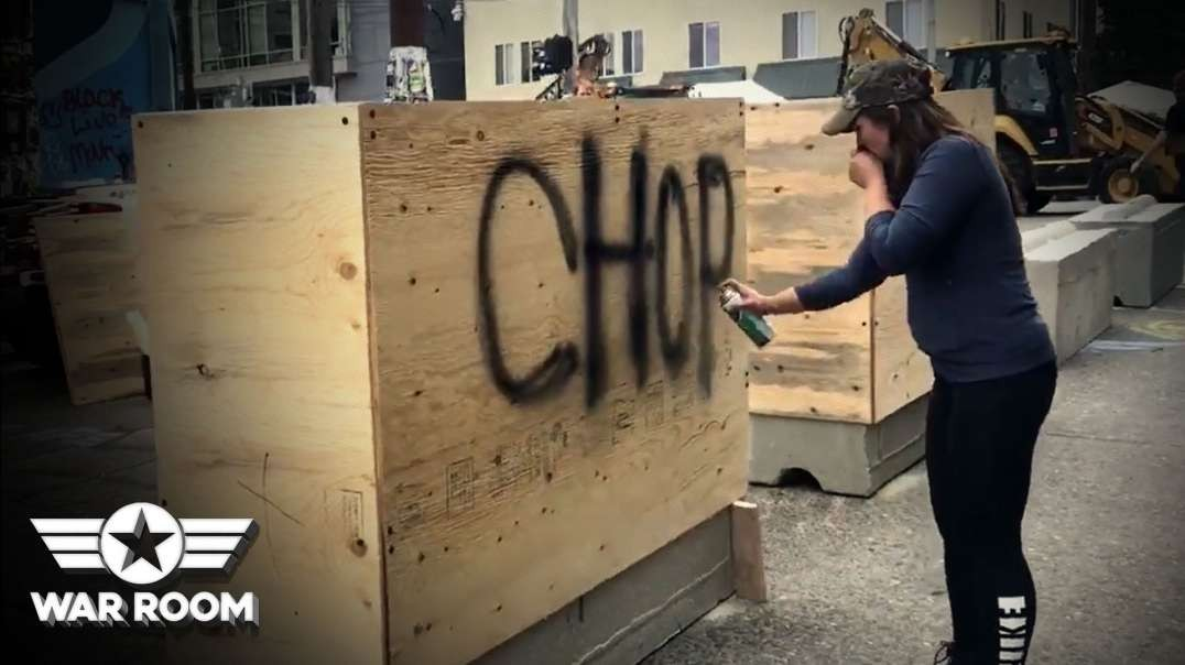 SEATTLE TAX PAYERS NOW PAYING FOR CHOP BORDER WALL