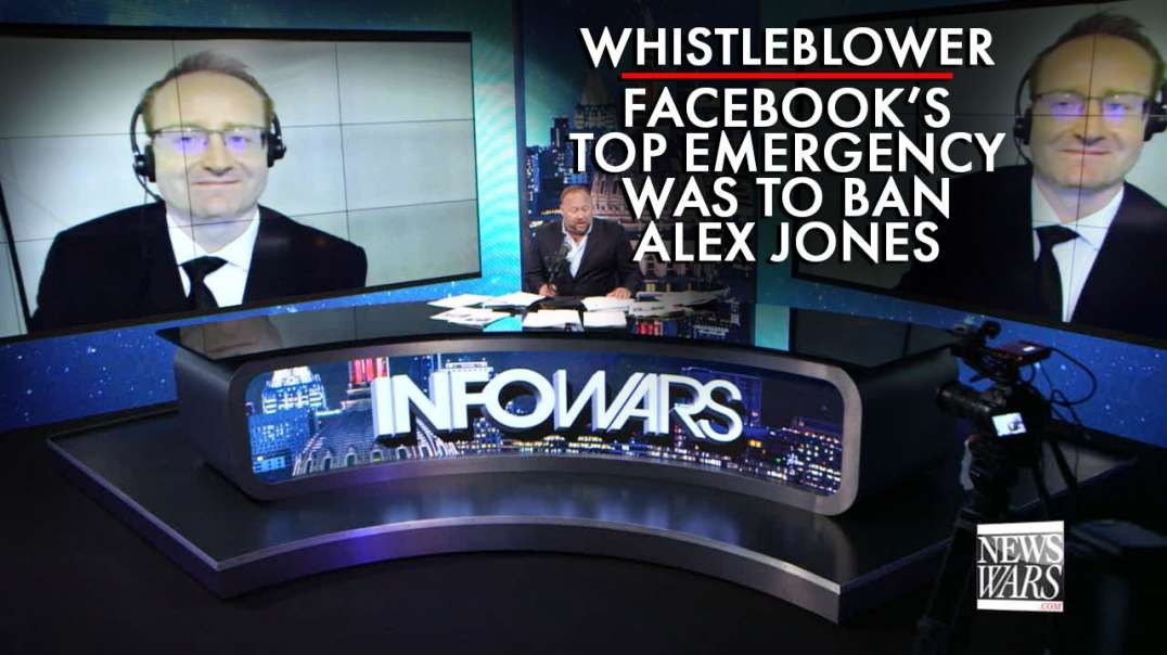 Whistleblower: Facebook's Top Emergency Was To Ban Alex Jones