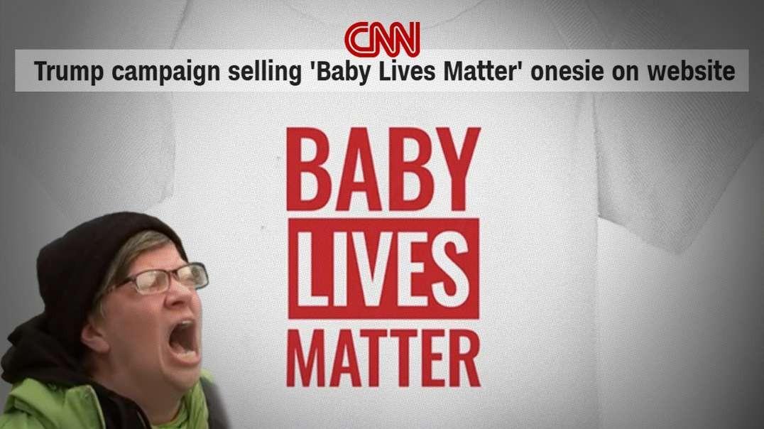 President Trump Destroys Black Lives Matter With Babies Lives Matter