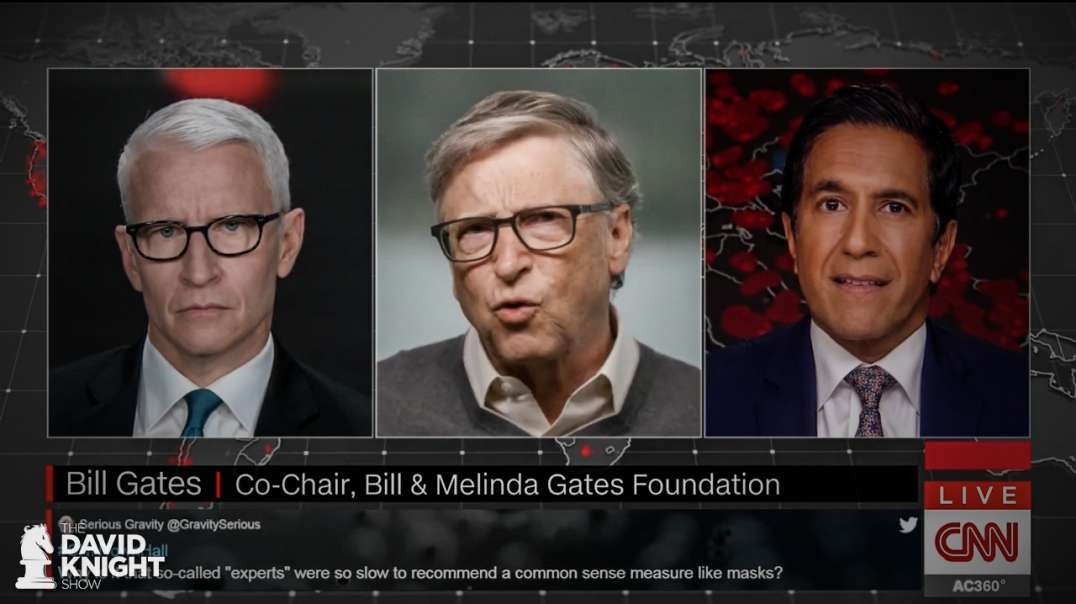 Gates Stars in CNN Town Hall to Push Surveillance & Stoke Panic