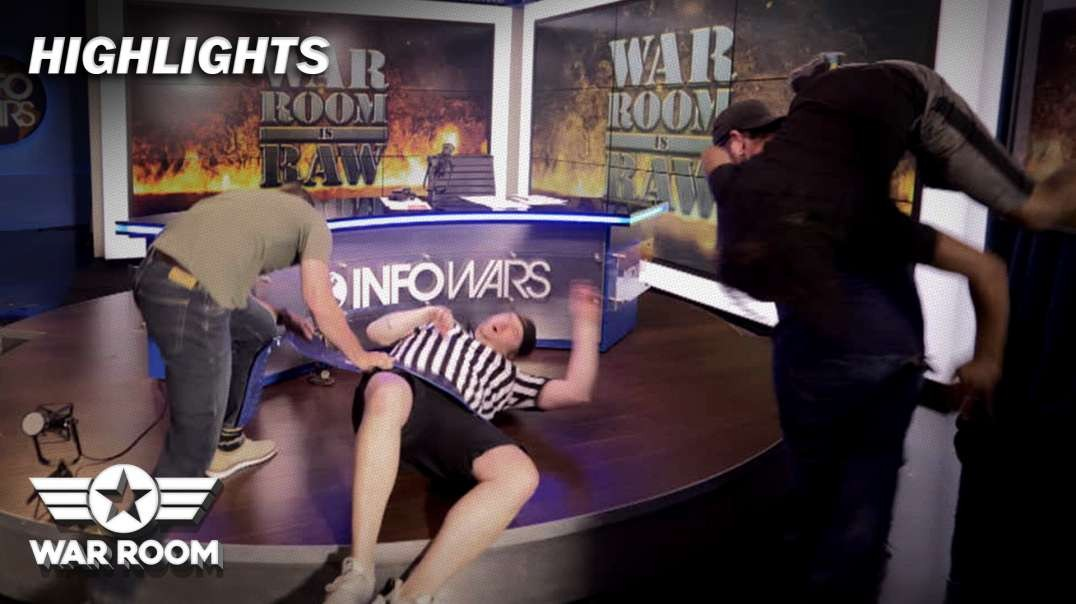 HIGHLIGHTS - War Room Crew Riots Live On Air!