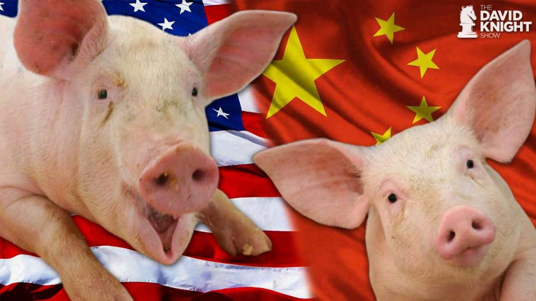 US Pork Production DOWN 40%, Chinese Imports of US Pork UP 400%