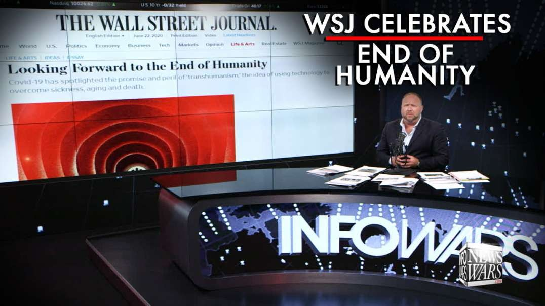 WSJ Headline Celebrates the End of Humanity