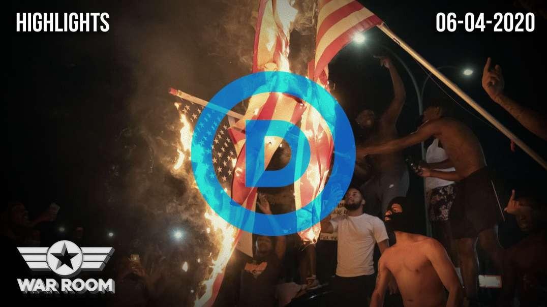 HIGHLIGHTS - Democrat Rioting And Destruction Continues