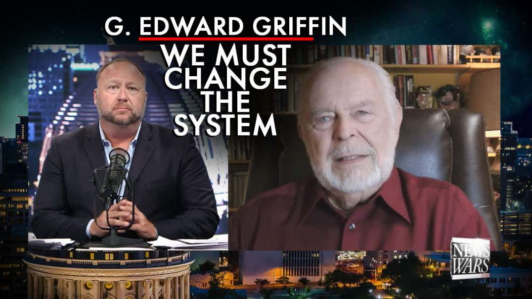 G. Edward Griffin: We Must Change The System, Start Questioning Authority