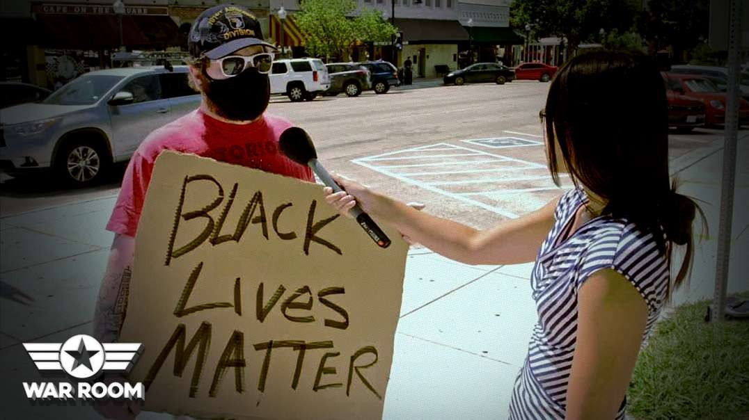 Black Lives Matter Protesters Can't Answer A Single Question