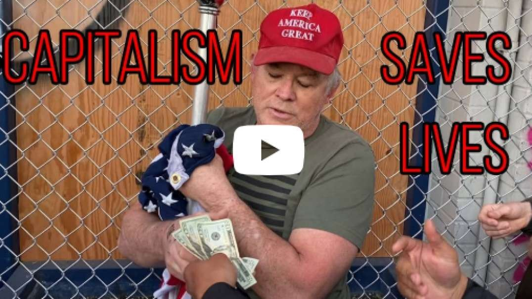 Trump Supporter Sells American Flag To Save His Life!